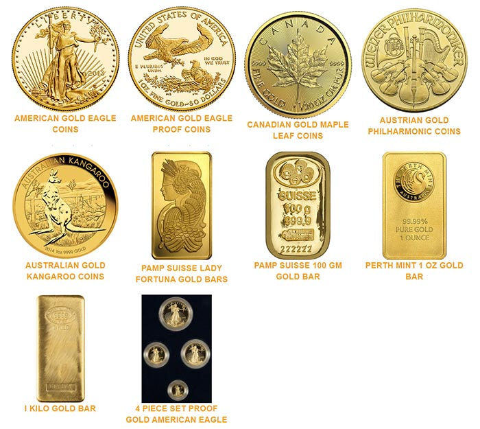 Noble Gold - Gold Coins