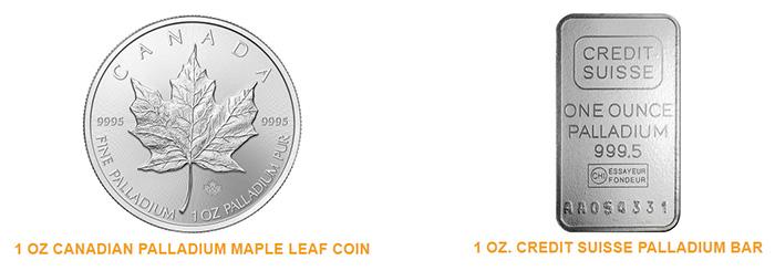 Noble Gold - Palladium Coins