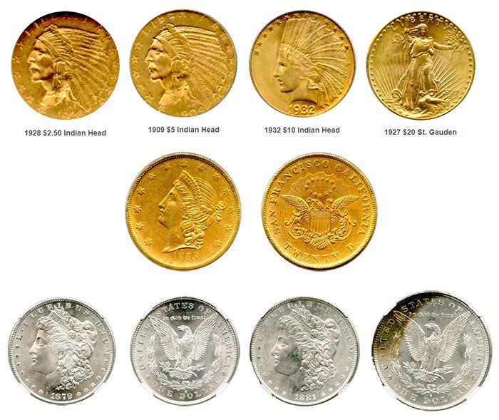 Noble Gold - Rare Coins