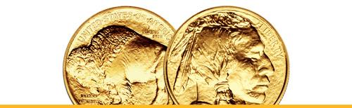American Gold Buffaloes