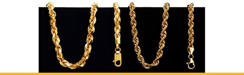 Rope Style Necklaces