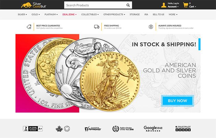 Silver Gold Bull