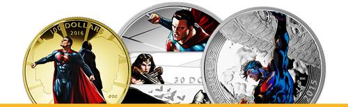 Superheroes Coin Collection